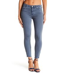 Michelle By Comune - Twig Mid Rise Skinny Jeans - Lyst