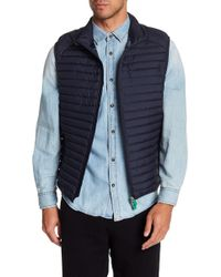 Save The Duck - Quilted Stand-up Collar Vest - Lyst