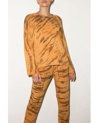 LNA Animal Dye Sweater - Orange