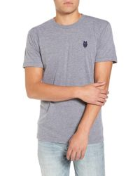 Casual Industrees - Nw Trident Embroidered T-shirt - Lyst