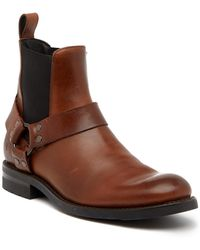 Frye - Stone Harness Leather Boot - Lyst