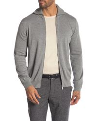 Perry Ellis - Funnel Neck Full Zip Cardigan - Lyst