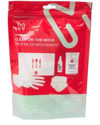 MYTAGALONGS Clean On The Move Kit - Red