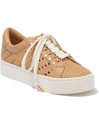 Joie Handan Woven Platform Sneaker - Natural