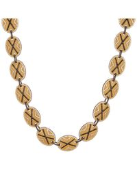 Freida Rothman - 14k Gold & Rhodium Plated Sterling Silver Cz Pave Crystal Collar Necklace - Lyst