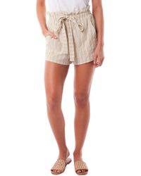 Rhythm Jamaica Woven Cover-up Shorts - Multicolor