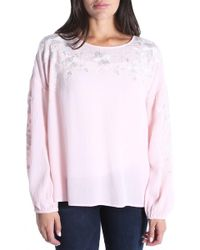 Kut From The Kloth - Ailiana Embroidered Blouse - Lyst