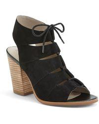 Hinge - Drea Leather Sandals - Lyst