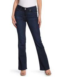 PAIGE Manhattan Bootcut Jeans - Blue