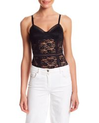 Honey Punch - Lace Bodysuit - Lyst