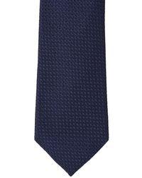 Nautica Knox Solid Tie - Blue