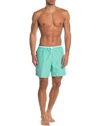 TRUNKS SURF AND SWIM CO - Contrast Sano Swim Shorts - Lyst