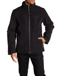 Bugatchi - Ribbed Front Zip Jacket - Lyst