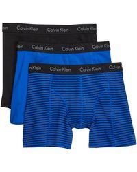 Calvin Klein - Comfort Fit Boxer Briefs - Pack Of 3 - Lyst