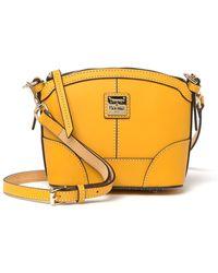 Dooney & Bourke Mini Domed Leather Crossbody Bag - Multicolour