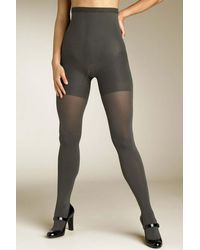 Spanx Tight End High Waist Tights (regular & Plus Size) - Gray