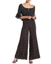Free People - Easy Peasy Cherry Printed Wide Leg Trousers - Lyst
