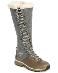 Woolrich Crazy Rockies Iii Lace-up Knee High Boot - Gray