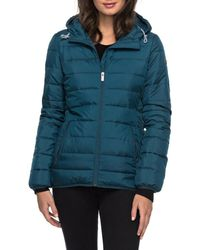 Roxy Forever Freely Puffer Jacket - Blue