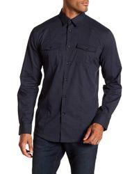 John Varvatos - Patterned Slim Fit Shirt - Lyst