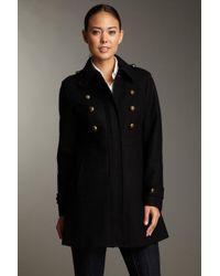 Esprit - Military Wool Blend Coat - Lyst