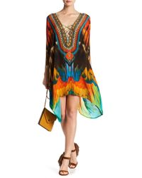 Shahida Parides - Medium Printed Convertible Kaftan - Lyst