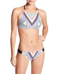 Body Glove - Ego Elena High Neck Bikini Top - Lyst
