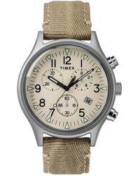 Timex Men's Mk1 Chronograph Quartz Sst Watch, 42mm - Multicolour