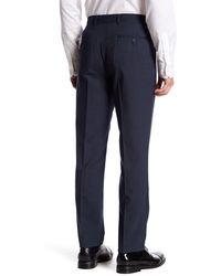 Original Penguin Wool Blend Suit Separates Pant - Blue
