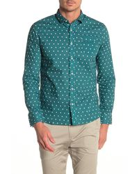 Descendant Of Thieves X Marks Regular Fit Shirt - Green