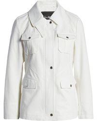 Sam Edelman Denim Field Jacket - White