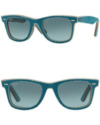 892c750a410 Lyst - Ray-Ban Wayfarer 50mm Wayfarer Sunglasses in Natural for Men