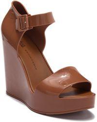 Melissa - Mar Platform Wedge Sandal - Lyst