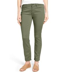 Jen7 - Colored Stretch Ankle Skinny Jeans - Lyst