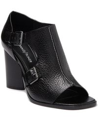 Donald J Pliner Fouu Block Heel Sandal - Black