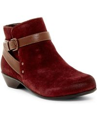 Comfortiva - Ryder Buckle Strap Boot - Wide Width Available - Lyst