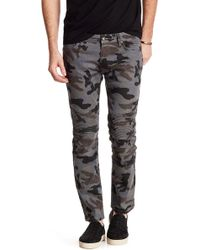 """Xray Jeans - Pintuck Pleated Camo Jeans - 30-32"""" Inseam - Lyst"""