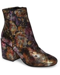 Kenneth Cole - Reeve 4 Floral Applique Bootie - Lyst