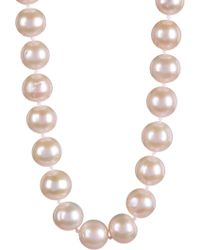 Splendid - 14k Yellow Gold 10-11mm White Cultured Freshwater Pearl Necklace - Lyst
