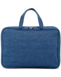 Kestrel Denim Weekend Organizer Bag - Blue