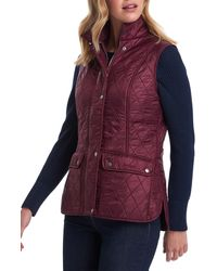 Barbour Wray Gilet - Purple