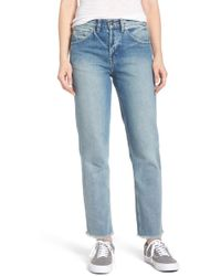 Obey - Sundays Straggler High Waist Jeans - Lyst