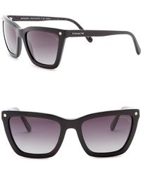 COACH - 56mm Square Sunglasses - Lyst