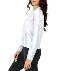 90 Degrees Brushed Long Sleeve Top - White