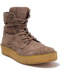 AllSaints Kip Lace-up Suede Boot - Brown