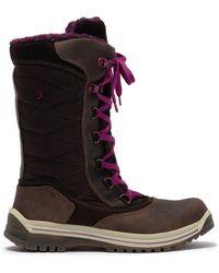 Santana Canada Mohawk Fleece Lined Lace-up Waterproof Boot - Brown