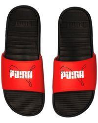 PUMA Cool Cat Jump Slide - Red