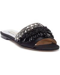 Badgley Mischka - Kassandra Embellished Slide Sandal - Lyst