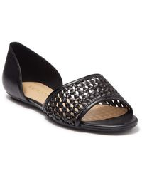 Nine West Woven D'orsay Sandal - Black