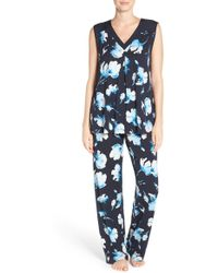 Midnight By Carole Hochman - Floral Pyjamas - Lyst